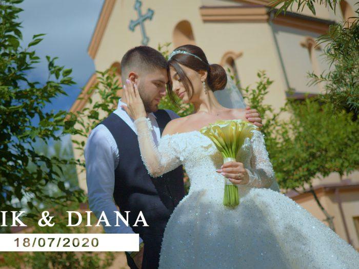 Свадебный клип Эрика и Дианы